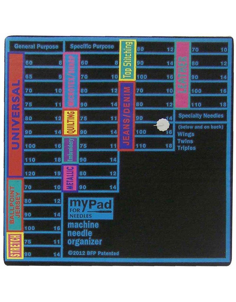 Grabbit GRABBIT myPadTM Machine Needle Organizer