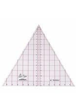 "Sew Easy SEW EASY Triangle Ruler 60° - 12"" x 137/8"" (30.5 x 35.2cm)"