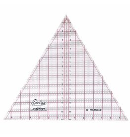 sew easy SEW EASY Triangle Ruler 60° - 12″ x 137⁄8″ (30.5 x 35.2cm)