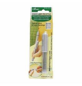 Clover CLOVER 4714 - Pen Style Chaco Liner - Silver