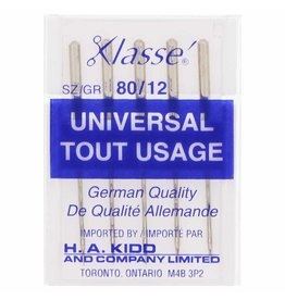 Klassé Aiguilles klassé universelle 80/12 paquet