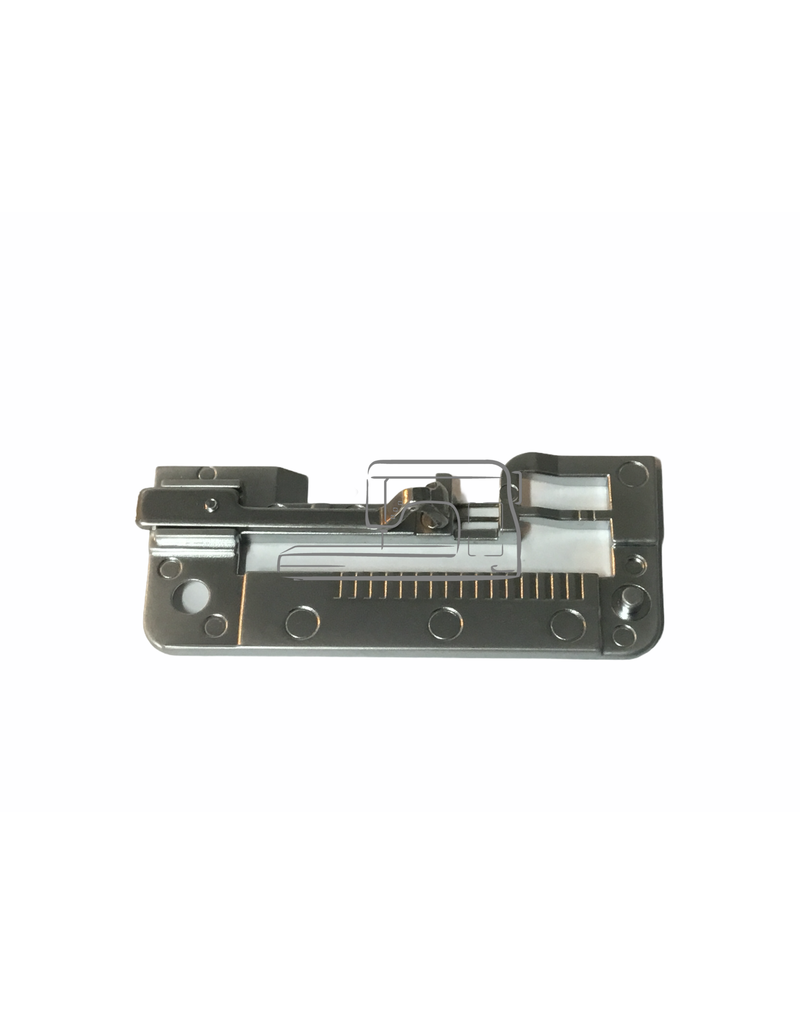 Brother Brother needle plate serger with guide