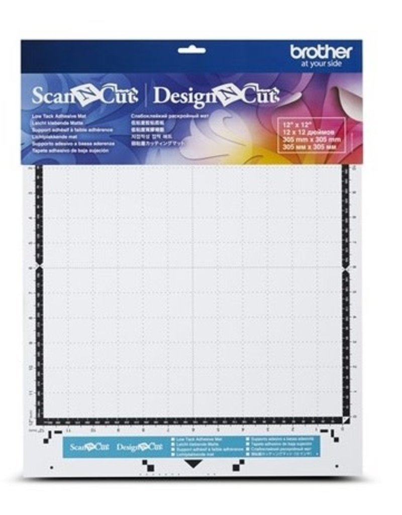 """Brother Brother low tack adhesive mat, 12"""" x 12"""""""