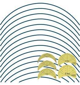Sew Steady Westalee Design Arc Templates