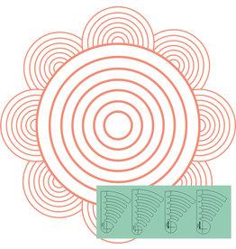 Sew Steady Cercles progressifs Set 3 Ens de 4