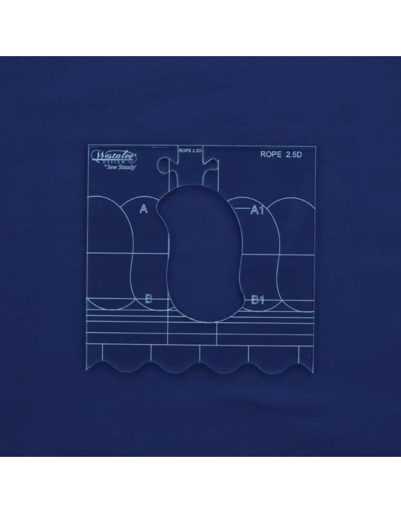 Sew Steady Westale Continuous Rope and Echo Template #1.5C