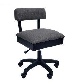 Arrow Chaise noir couleur charcoal