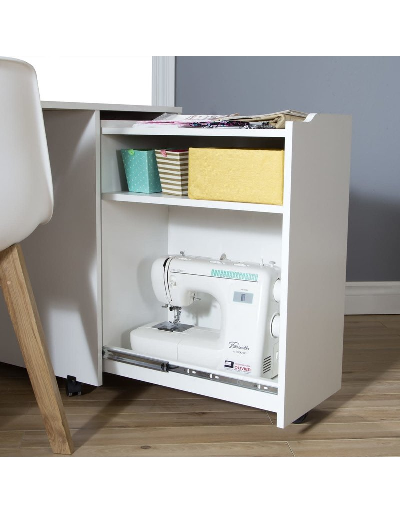 Sewing Craft Table on Wheels