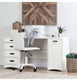 Sewing Craft Table and Storage