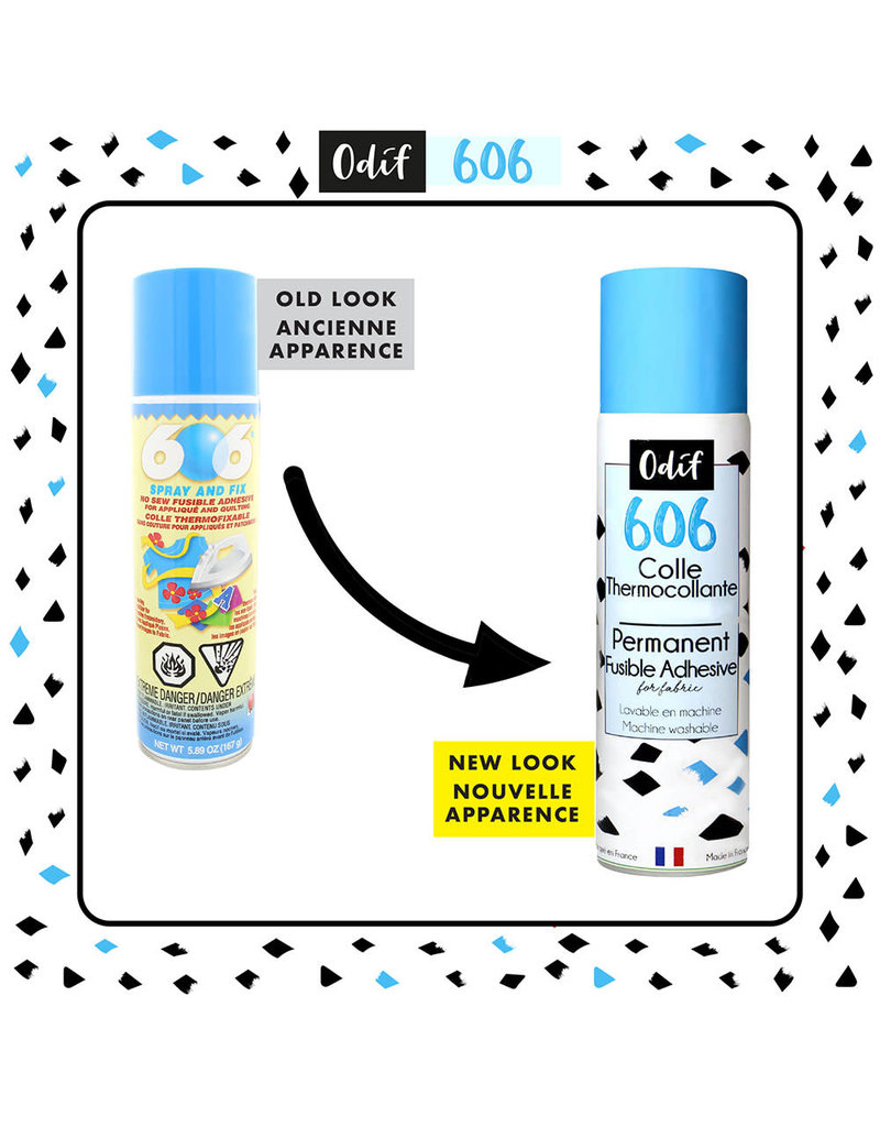 Odif Adhésif thermocollant ODIF 606 Spray and Fix - 163g (250 ml)