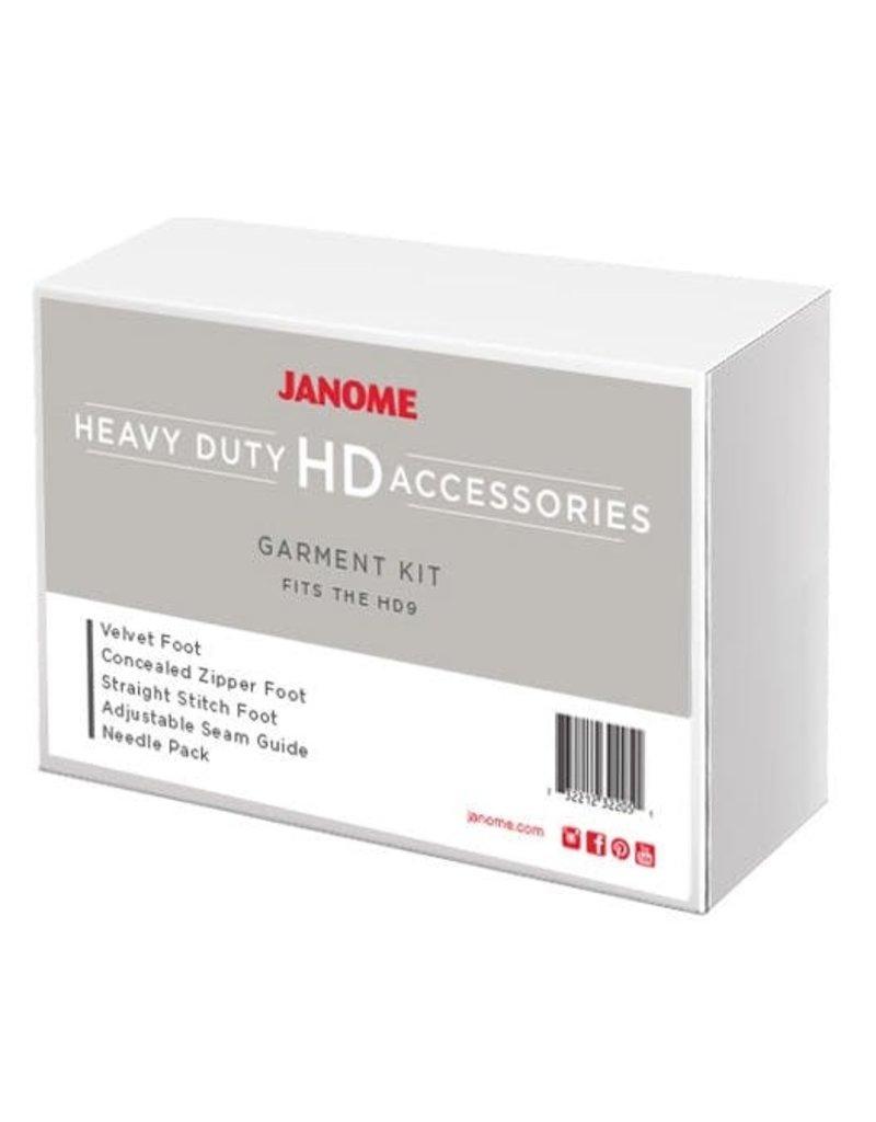 Janome Garment Kit HD9-GARMENT