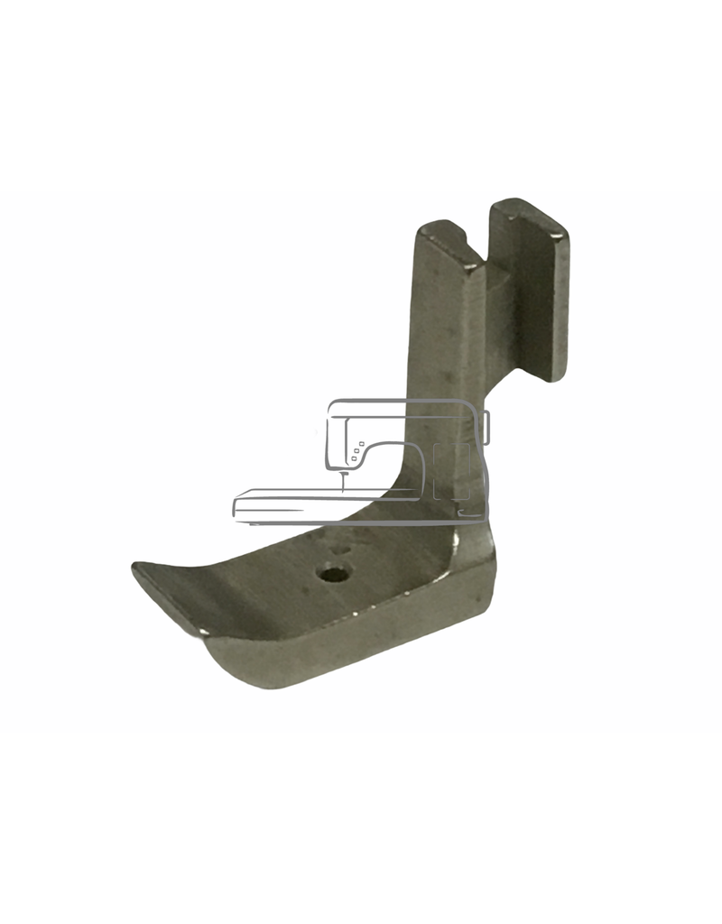 """Industriel 1/16"""" right sided piping foot"""