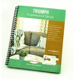 Baby Lock Baby Lock Triumph Inspirational Guide BLETS8