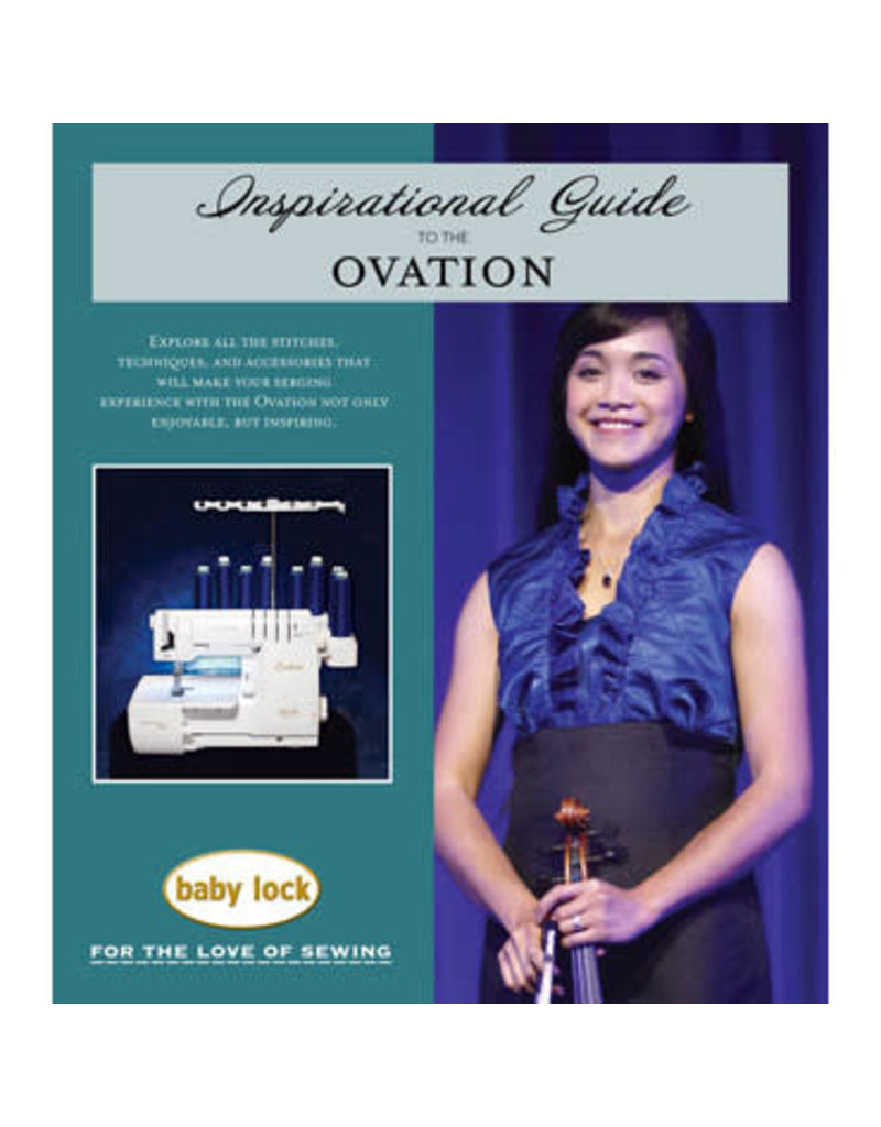 Babylock Baby Lock Ovation Inspirational Guide BLES8