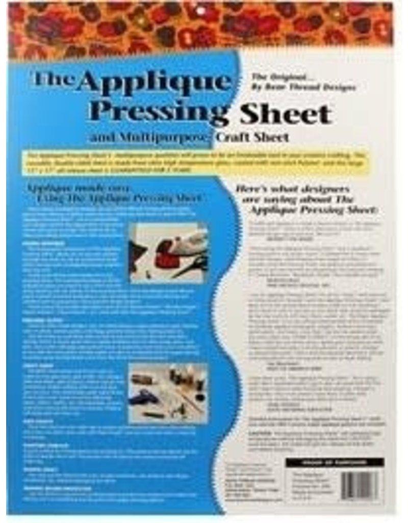 Bear Thread Designs The applique pressing sheet 13 x 17in