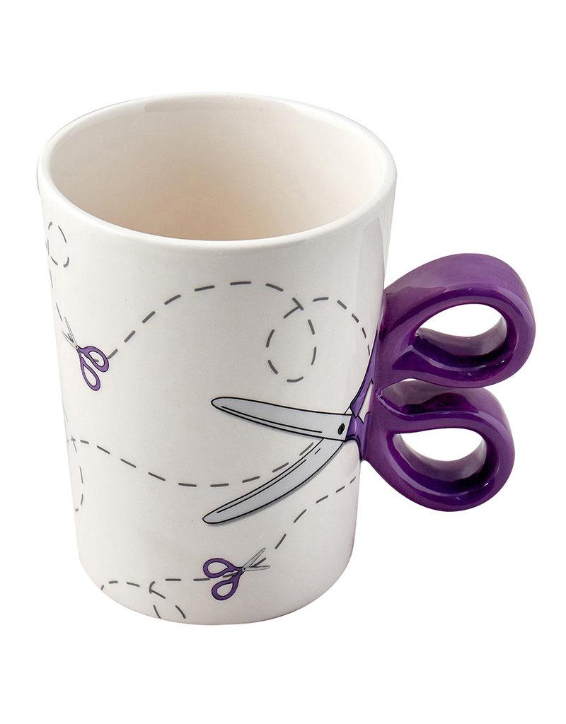 Sew Tasty Tasse Csiseaux - Scissors Mug