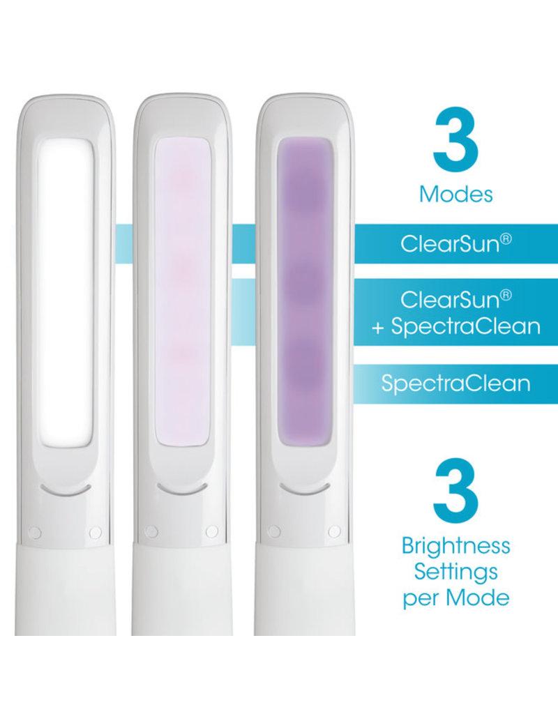 Ottlite Ottlite Purify LED Sanitizing Desk Lamp with Wireless Charging