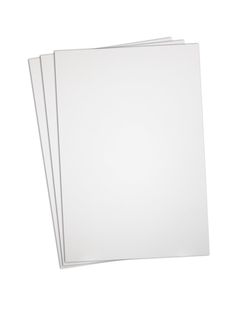 Hobby Puffy Foamie Sheet - White 2mm -  9″ x 12″ ( One )