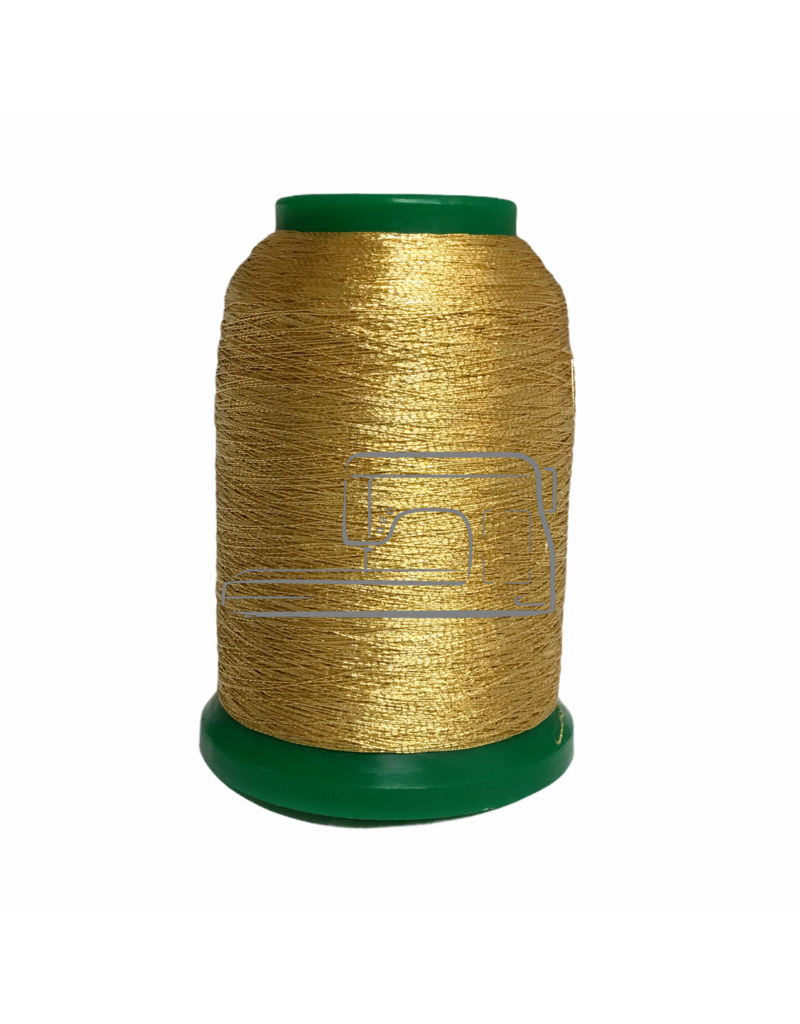 Isamet Isamet metallic thread 0500 1000 m for sewing and embroidery