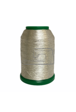 Isamet Isamet metallic thread 0501 1000 m for sewing and embroidery