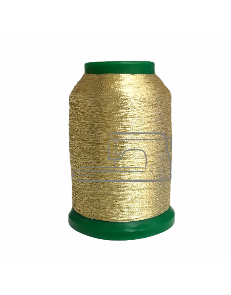 Isamet Isamet metallic thread 0496 1000 m for sewing and embroidery