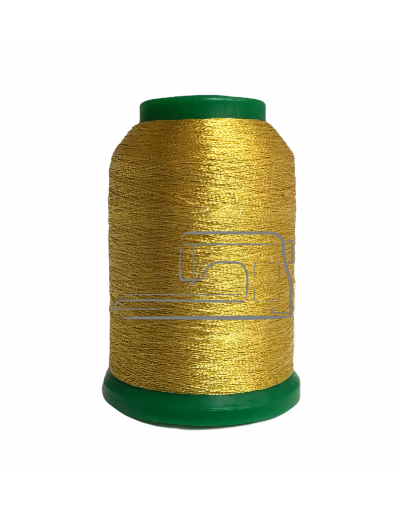 Isamet Isamet metallic thread 0491 1000 m for sewing and embroidery