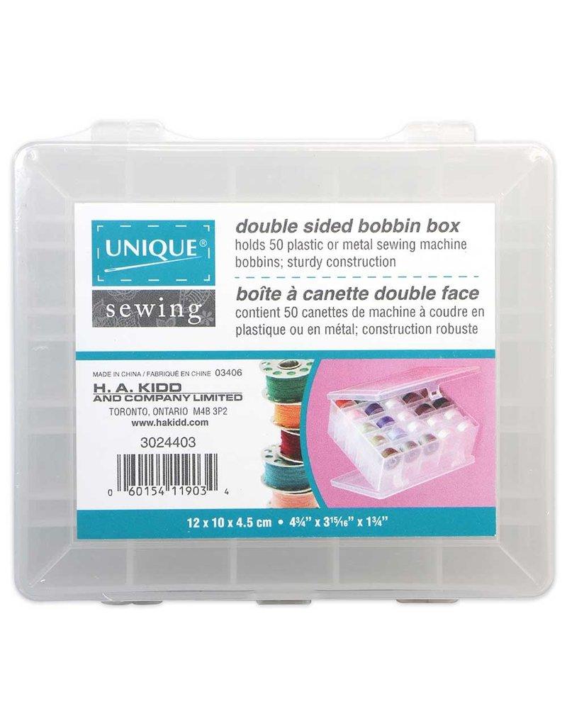 Unique Double Sided 50pc Bobbin Box