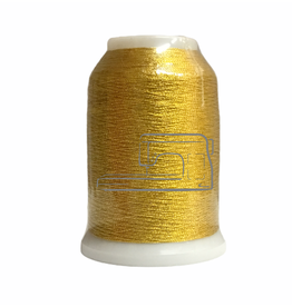Isamet Isamet metallic thread 7001 1000 m S12 DISC for sewing and embroidery