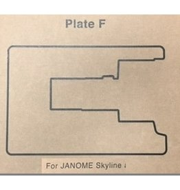Janome Insert F pour meuble Janome