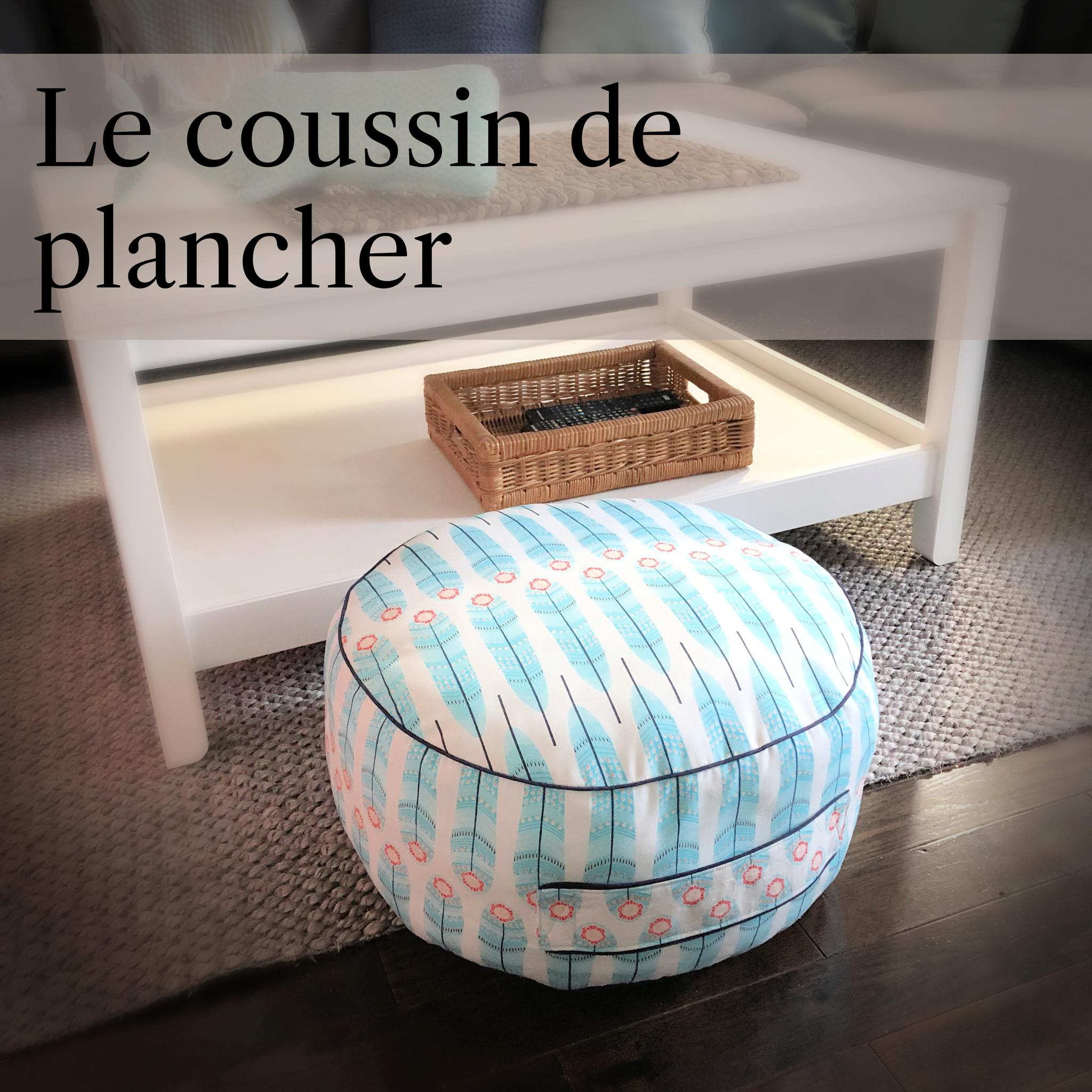 Le coussin de plancher
