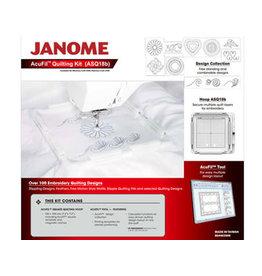 Janome Cerceau et logiciel Janome acufil quilt kit pour MC