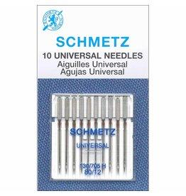 Schmetz Aiguilles Schmetz Universelles 80/12 paquet de 10