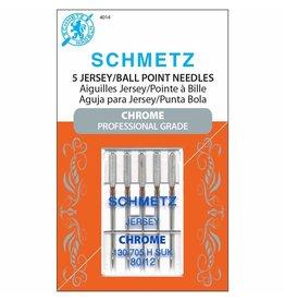 Schmetz Aiguilles Schmetz Chrome à Jersey 80/12