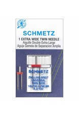 Schmetz Schmetz needles Twin extra wide 100/16, 8 mm
