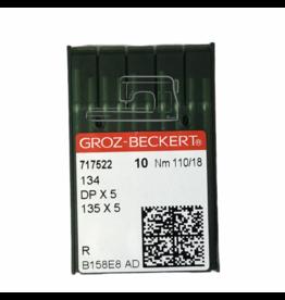 Groz - Beckert HQ Groz Beckert needles: DPX5 Gr18, 18X8