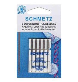 Schmetz SCHMETZ  NonStick Needles Carded - 70/10 - 5 count