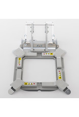 """Brother Single Flash Frame M Clamp Magentic Hoop (4""""x4"""") PR"""