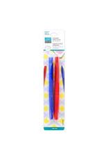 Unique Erasable Fabric Pens - Blue & Red - 2 pcs