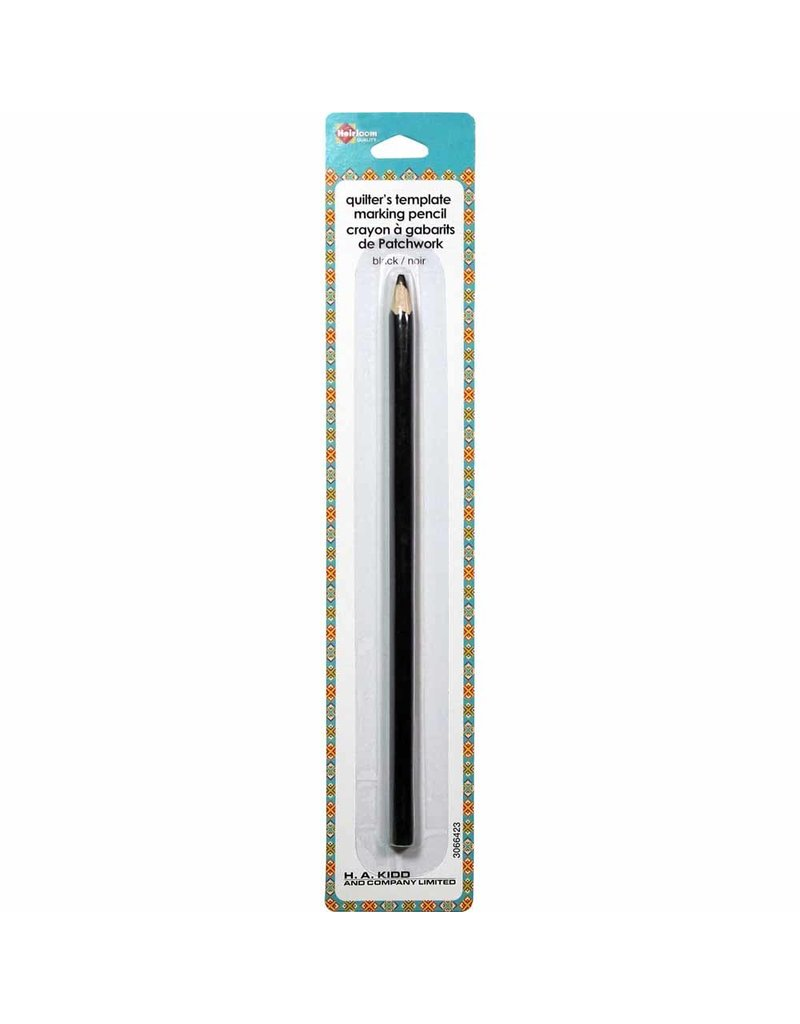 Heirloom Template Marking Pencil - Black