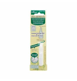 Clover Recharge pour style stylo Chaco - blanc