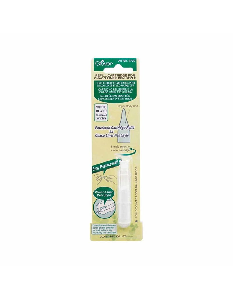Clover Pen Style Chaco Liner Refill - White