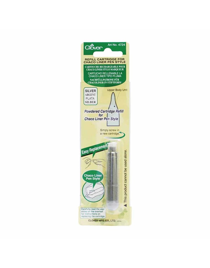 Clover Pen Style Chaco Liner Refill - Silver