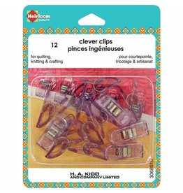 Heirloom Clever Clips Small - 12pcs