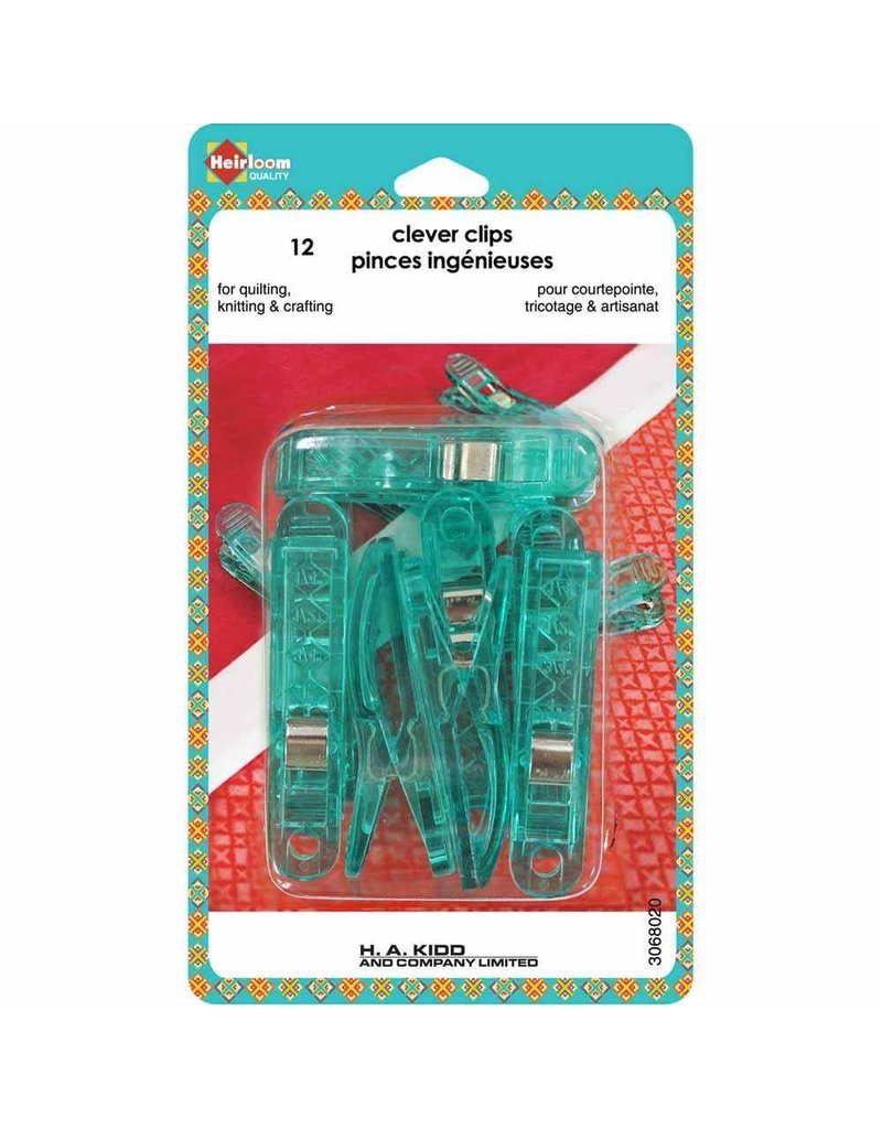 Heirloom Clever Clips Large - 12pcs