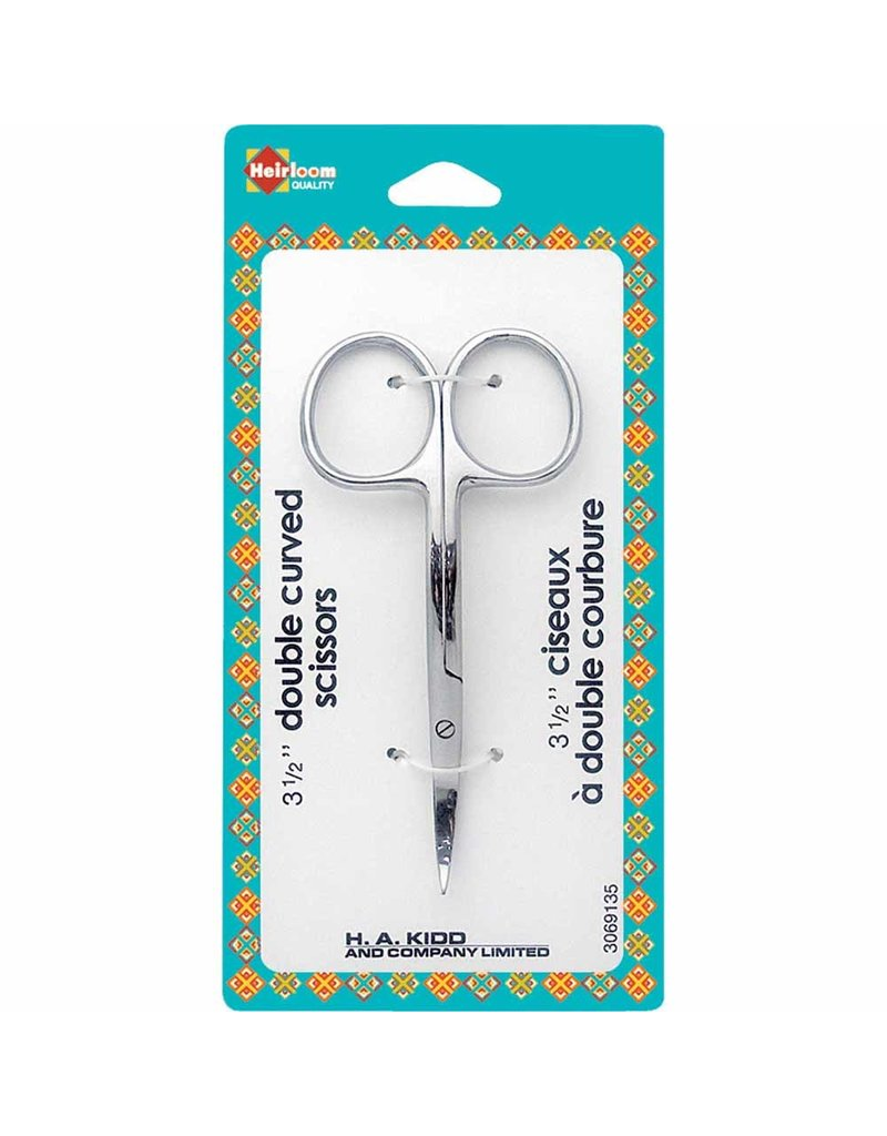 Havels Double Curved Scissors - 31⁄2″ (8.9cm)