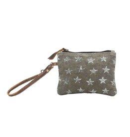 Myra Bags S-0783 Star-Grouped Wristlet