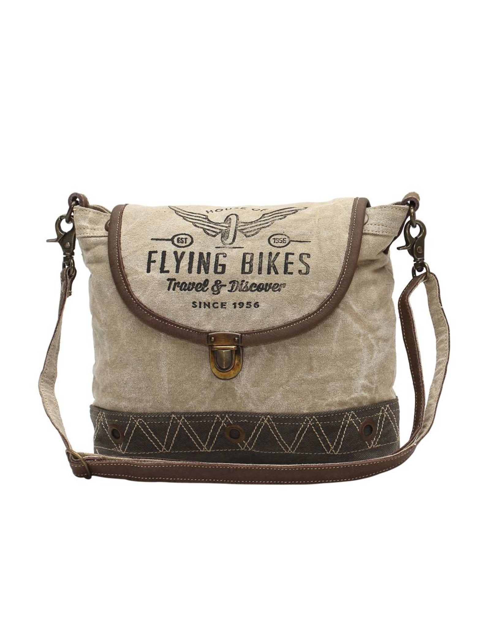Myra Bags S-1036 Flying Bikes Crossbody