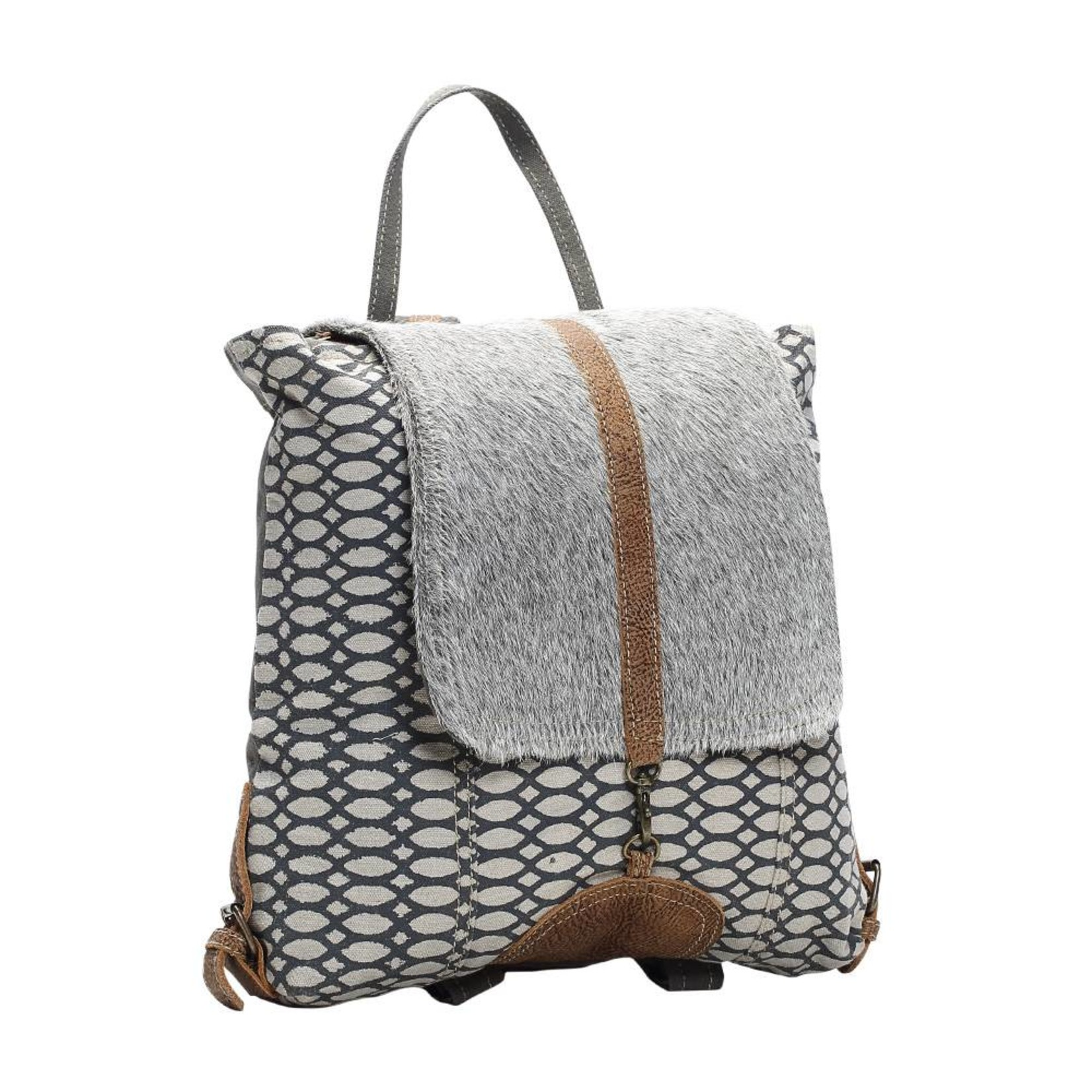 Myra Bags S-1162 Honey Bee Print Backpack