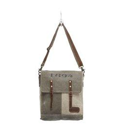 """Myra Bags S-0861 """"1894"""" Messenger Bag"""