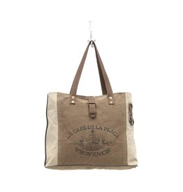 S-0939 Provence Canvas Tote